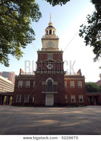 Independence Hall Early Morning