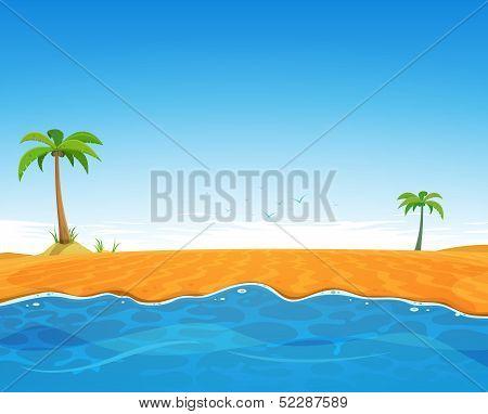 Tropical Summer Beach