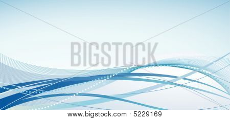Abstract Background With Blue Shades