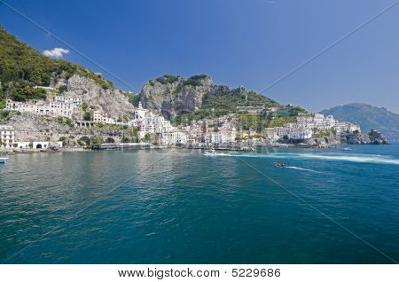 Amalfi Cityscape