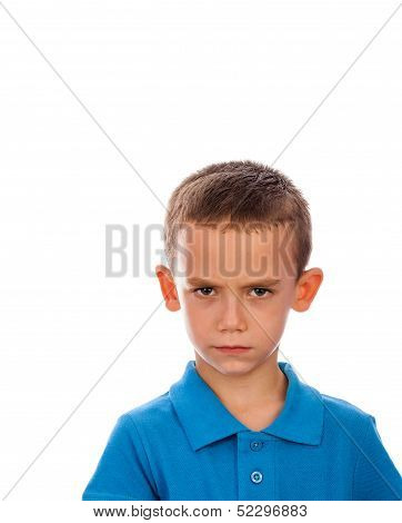 Dissatisfied Boy