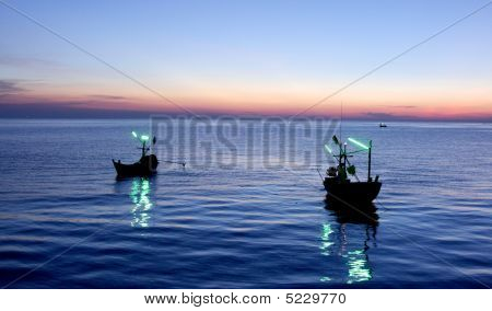 Two Fishing Boat