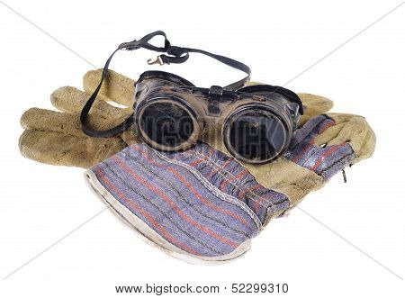 Protective Goggles With Gloves