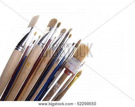 Brushes Isolated