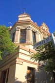 pic of olden days  - An olden days Australian architecture adapted from the European style in Brisbane. ** Note: Slight blurriness, best at smaller sizes - JPG