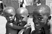 hildren Of The Slums In Kampala Africa