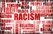 foto of racial discrimination  - Racism and Discrimination as a Grunge Background - JPG