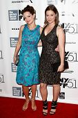 NEW YORK- OCT 8: Actress Ashley Williams (R) and Kimberly Williams-Paisley attend the