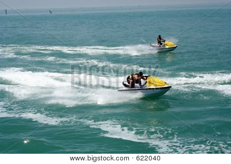 Ocean Jet Ski Sport