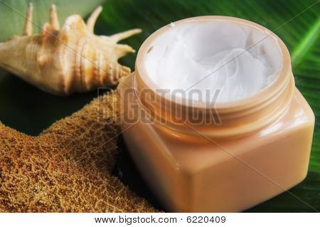 jar of body cream