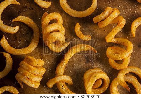 Spicy Seasoned Curly Fries