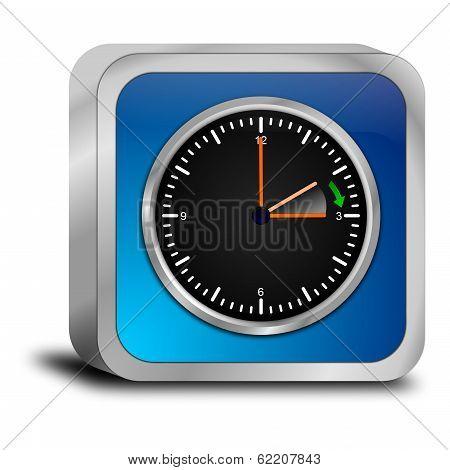 daylight saving time button - in german