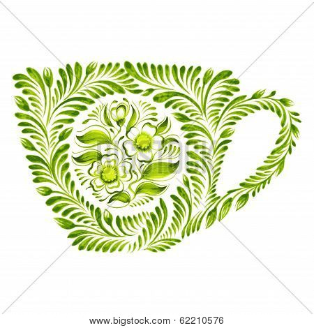 Decorative Ornament Teacup