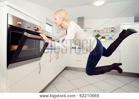 Levitation In The Kitchen