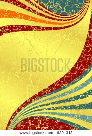 gold stripped background