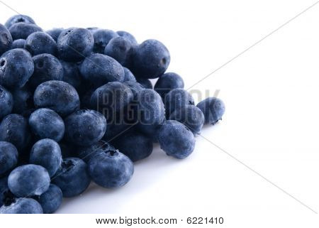 Blueberries In A Pile