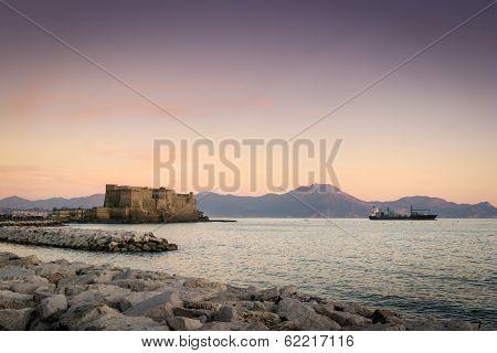 Castel Dell Ovo, Naples, Italy