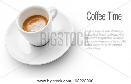 Coffee Time -Cup Of Coffee