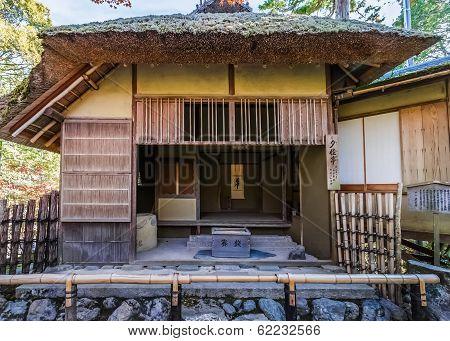 Sekkatei Teahouse at Kinkakuji Temple
