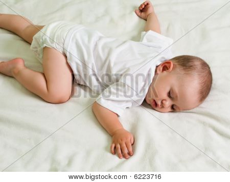 Little Child Sleeping