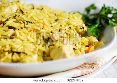 Pilau With Chicken