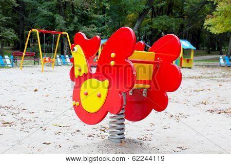 Playground And Swing