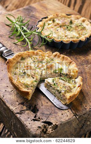 quiche with tuna  fish