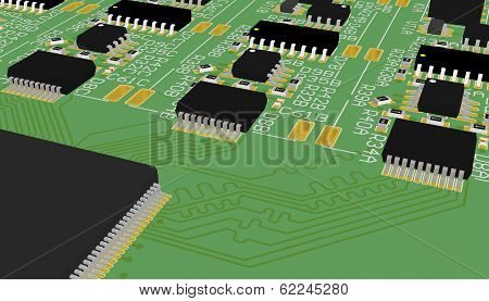 Printed circuit board green