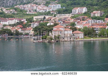 Seaside Recreation Area In Montenegro