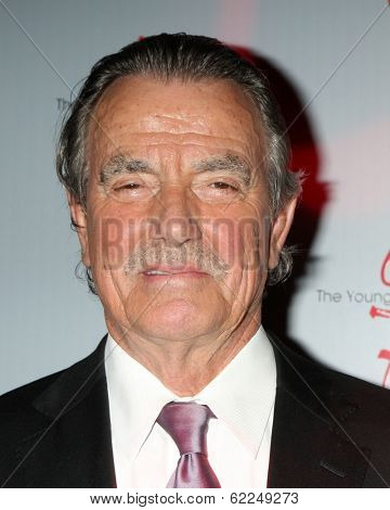 LOS ANGELES - MAR 25:  Eric Braeden at the Young and Restless 41st Anniversary Cake at CBS Television City on March 25, 2014 in Los Angeles, CA