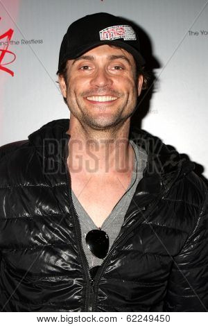 LOS ANGELES - MAR 25:  Daniel Goddard at the Young and Restless 41st Anniversary Cake at CBS Television City on March 25, 2014 in Los Angeles, CA