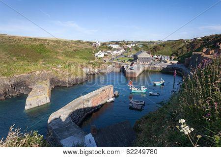 Porthgain Harbour, Pembrokeshire, Wales