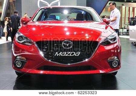 Nonthaburi - March 25: New Mazda 3 On Display At The 35Th Bangkok Thailand International Motor Expo