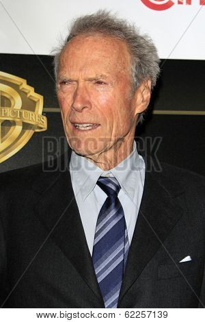 LOS ANGELES - MAR 27:  Clint Eastwood at the  CinemaCon 2014 - Warners Brothers Photocall at Caesars Palace on March 27, 2014 in Las Vegas, NV