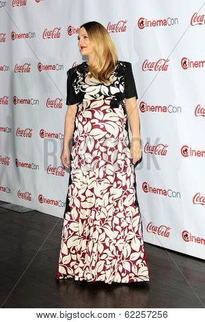 LOS ANGELES - MAR 27:  Drew Barrymore at the  CinemaCon 2014 Awards Gala at Caesars Palace on March 27, 2014 in Las Vegas, NV