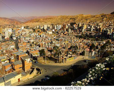 Modern Centre Of La Paz