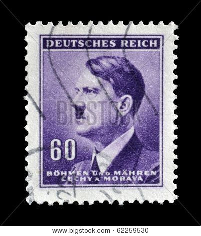 Bohmen and Mahren stamp