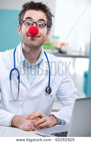 Funny Clown Doctor