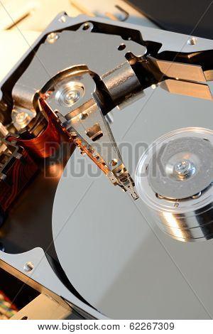 Hard Disc Opened