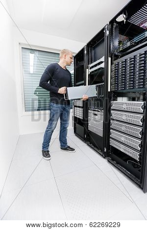 It consultant work with in datacenter