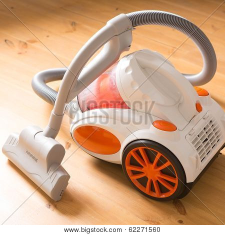 Vacuum Cleaner Stands In The Home