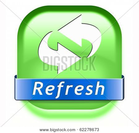 refresh button or redo and reload sign