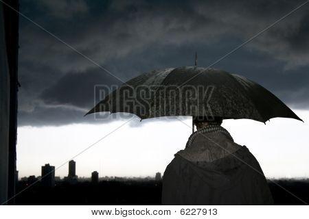 Umbrella-storm
