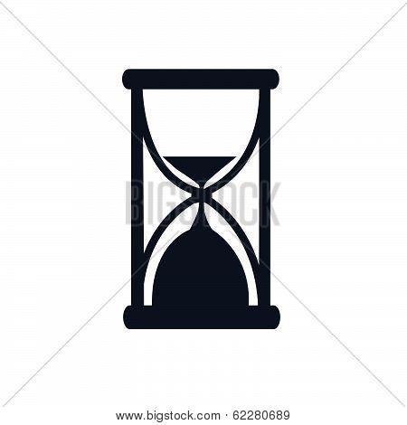 Black Hour Glass