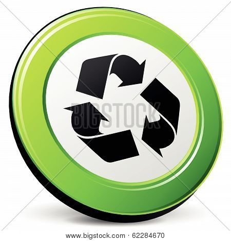 Vector Recycle 3D Icon