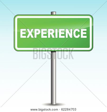 Vector Experience Signpost