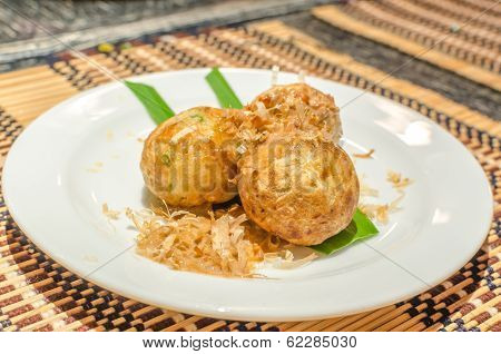 Takoyaki Octopus Balls