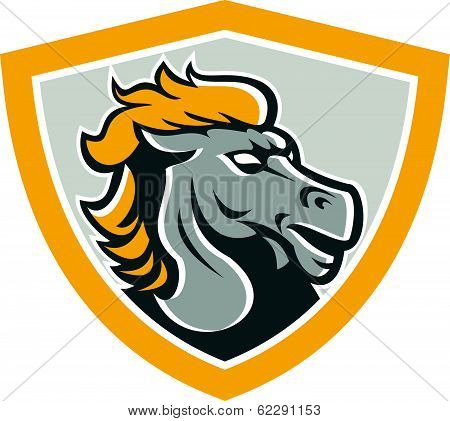 Bornco Horse Head Shield