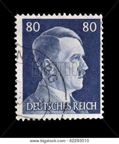 Hitler stamp 1941
