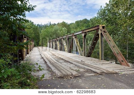 Wooden Road Bridge